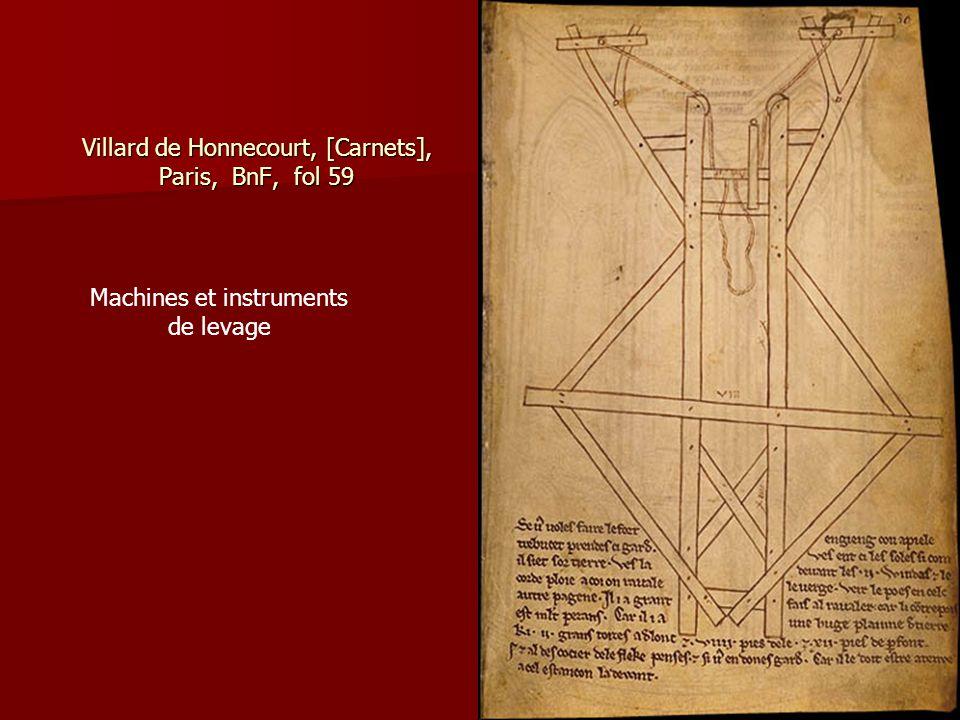 Villard de Honnecourt, [Carnets], Paris, BnF, fol 59